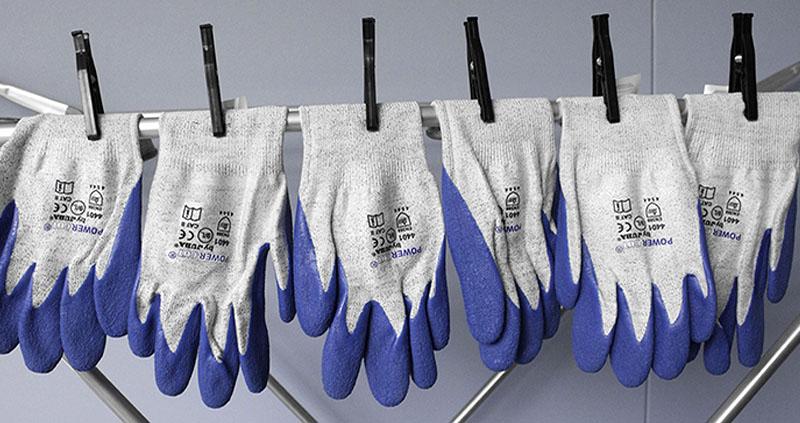 consejos para lavar guantes anticorte